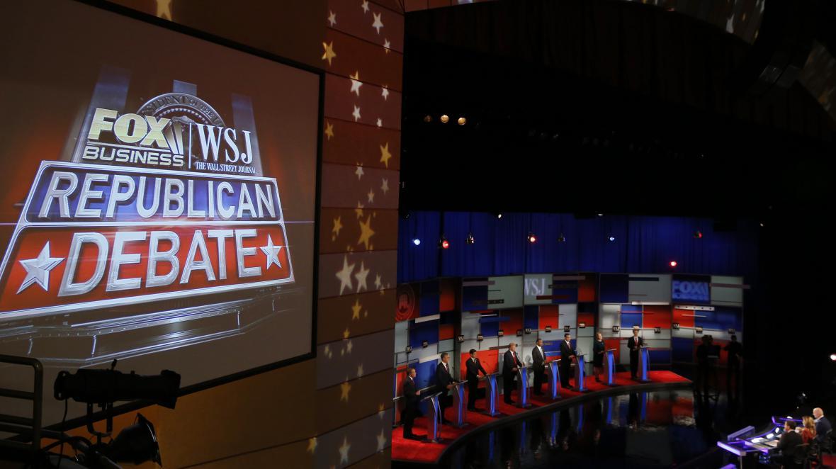 Debata republikánských kandidátů na prezidenta na Fox Business Network