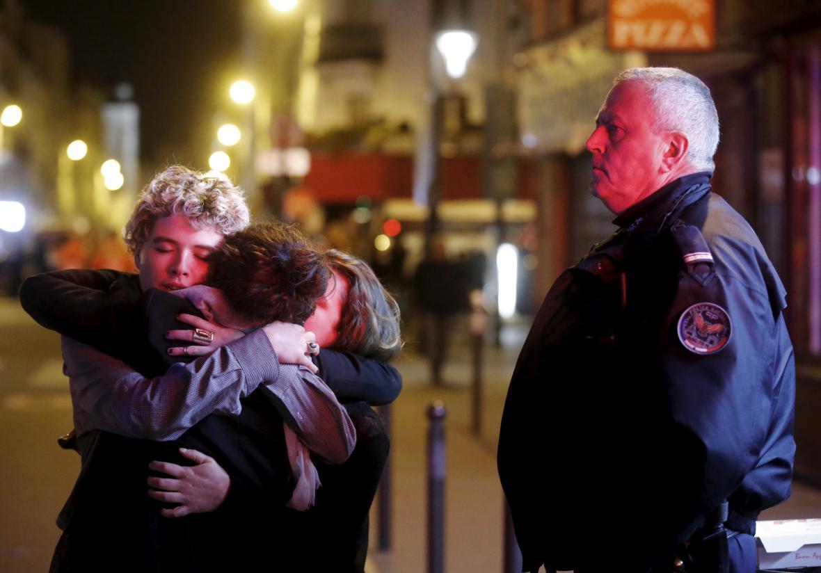 Tragická série útoků v Paříži