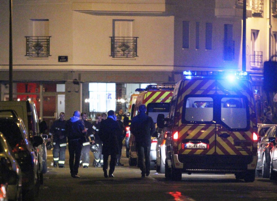Napětí v ulicích Paříže
