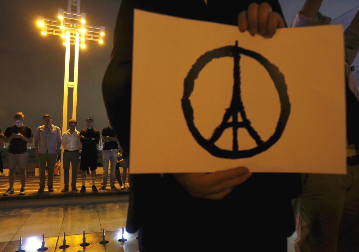 Symbol solidarity s Francií