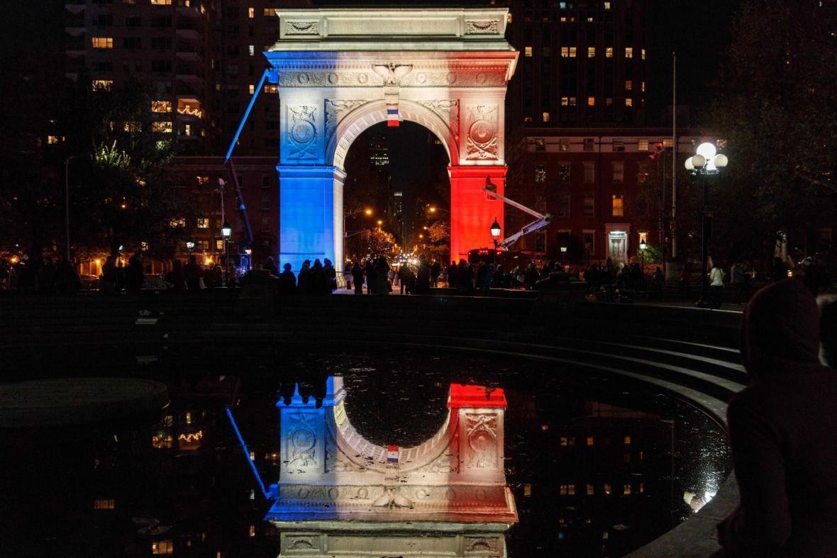 New York ve francouzských barvách