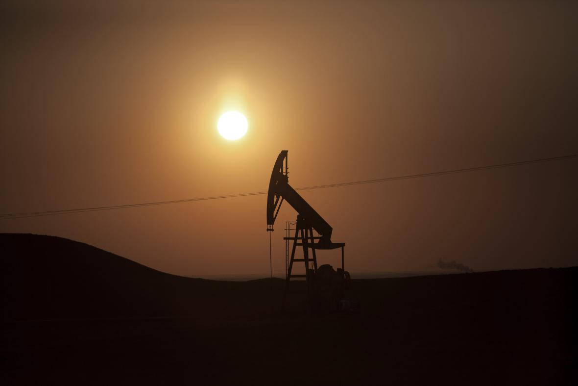 Ropné pole v Sýrii