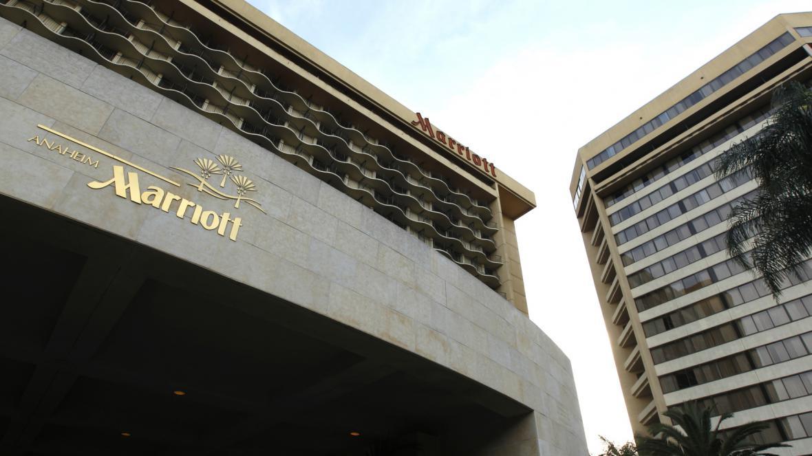 Hotel Marriott v Anaheimu v Kalifornii