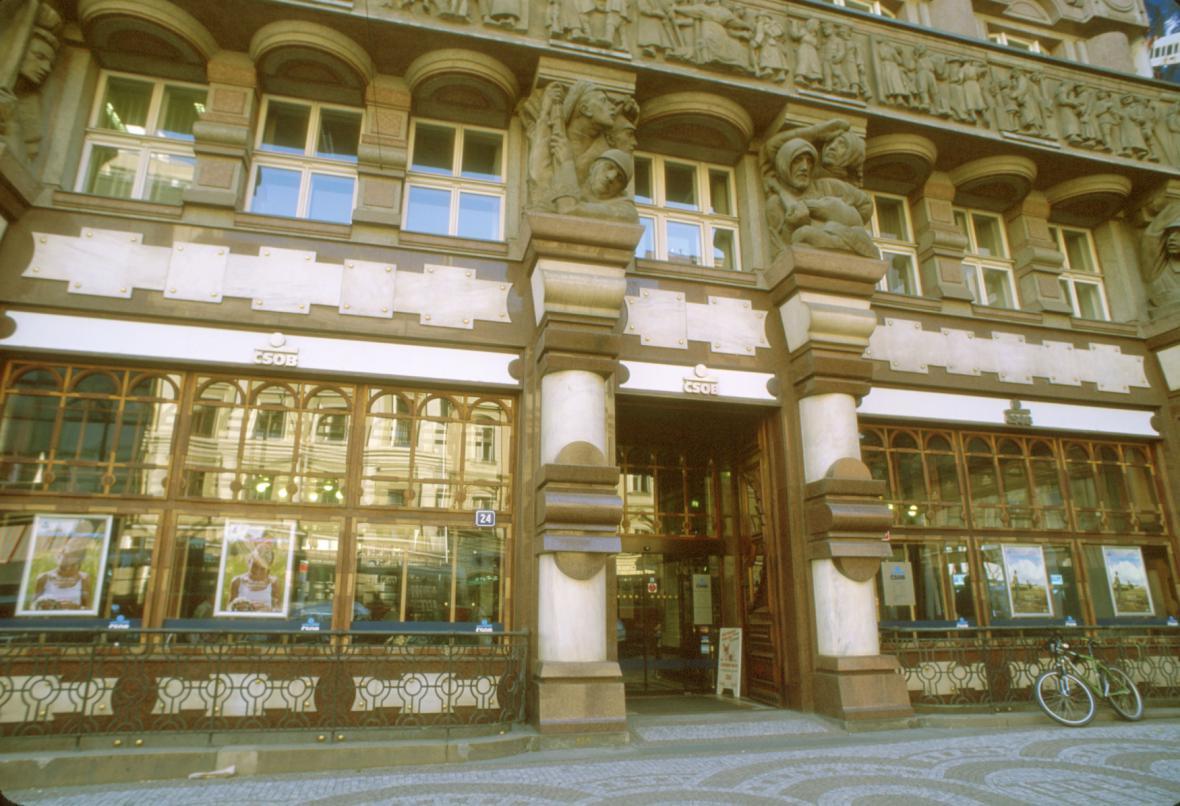 Budova bývalé Legiobanky