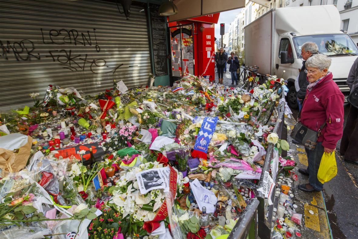 Paříž po útocích