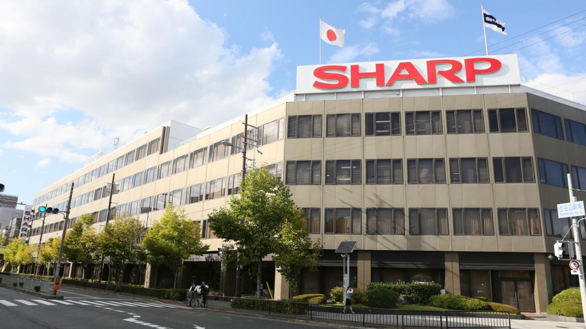 Centrála japonské firmy Sharp v japonské Osace