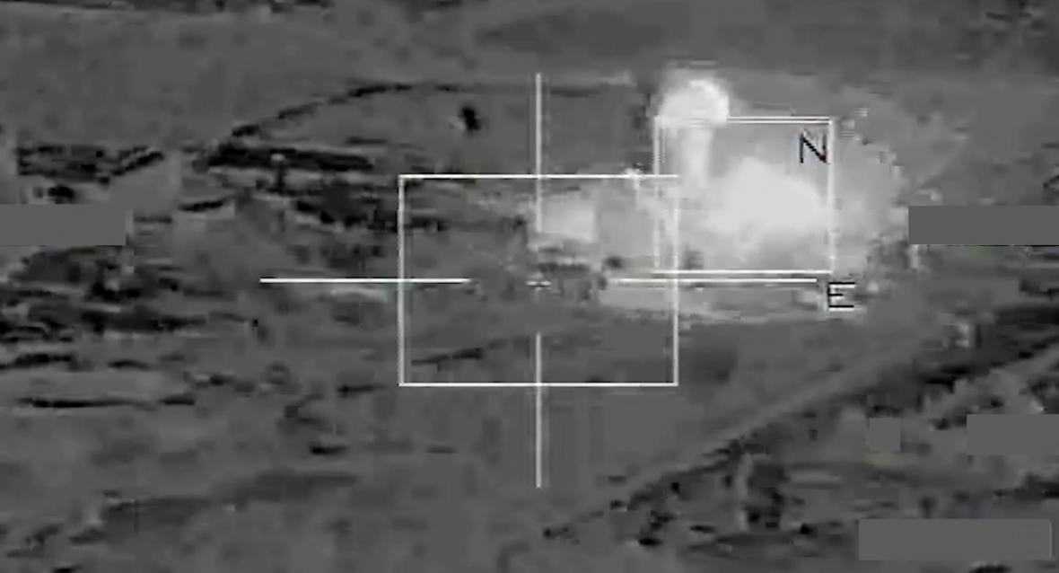 Francouzské nálety na cíle IS