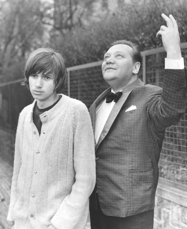 Rudolf Hrušínský a Jan Hrušínský ve filmu Lítost (1970)