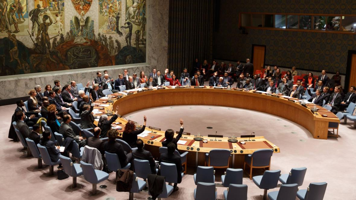 Rada bezpečnosti OSN jednohlasně vyzvala k zesílení boje proti IS