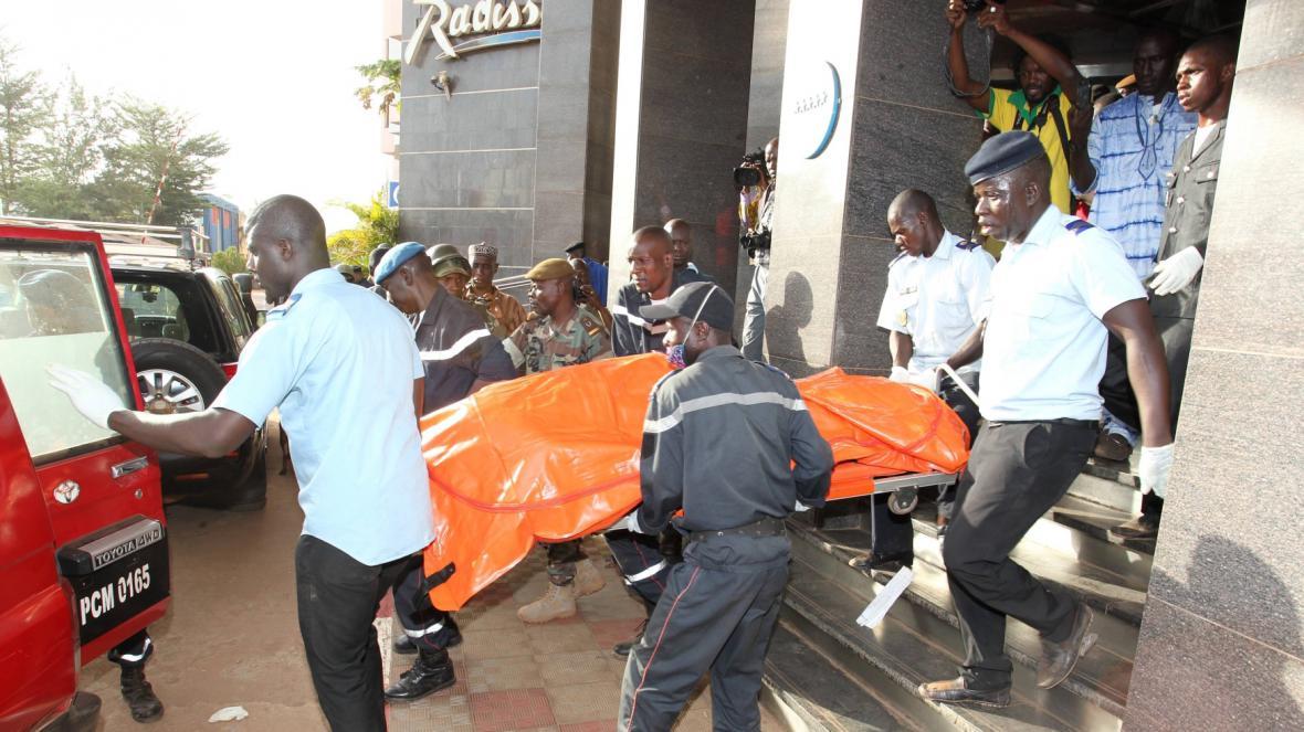Útok džihádistů na malijský hotel v Bamaku