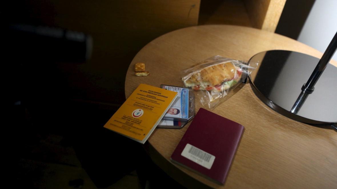 Pokoj v hotelu Radisson Blu