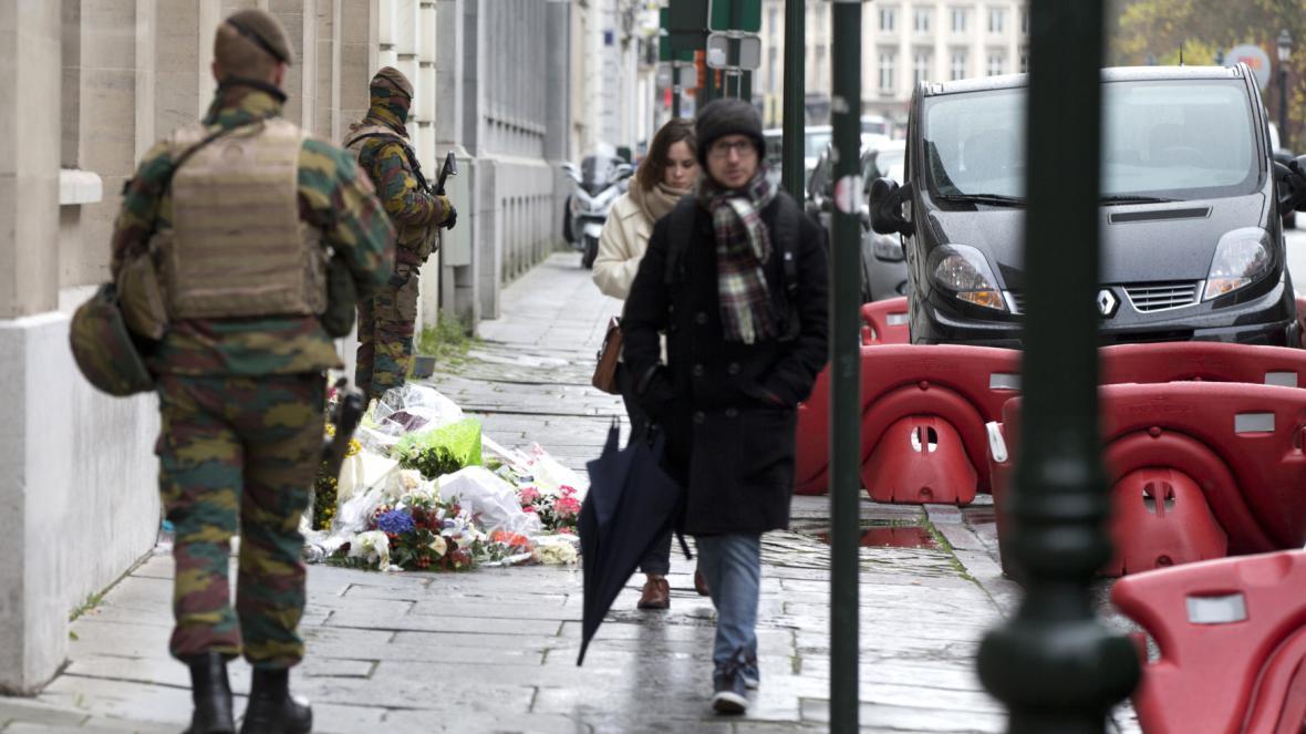 Brusel zvedl nejvyšší bezpečnostní stupeň
