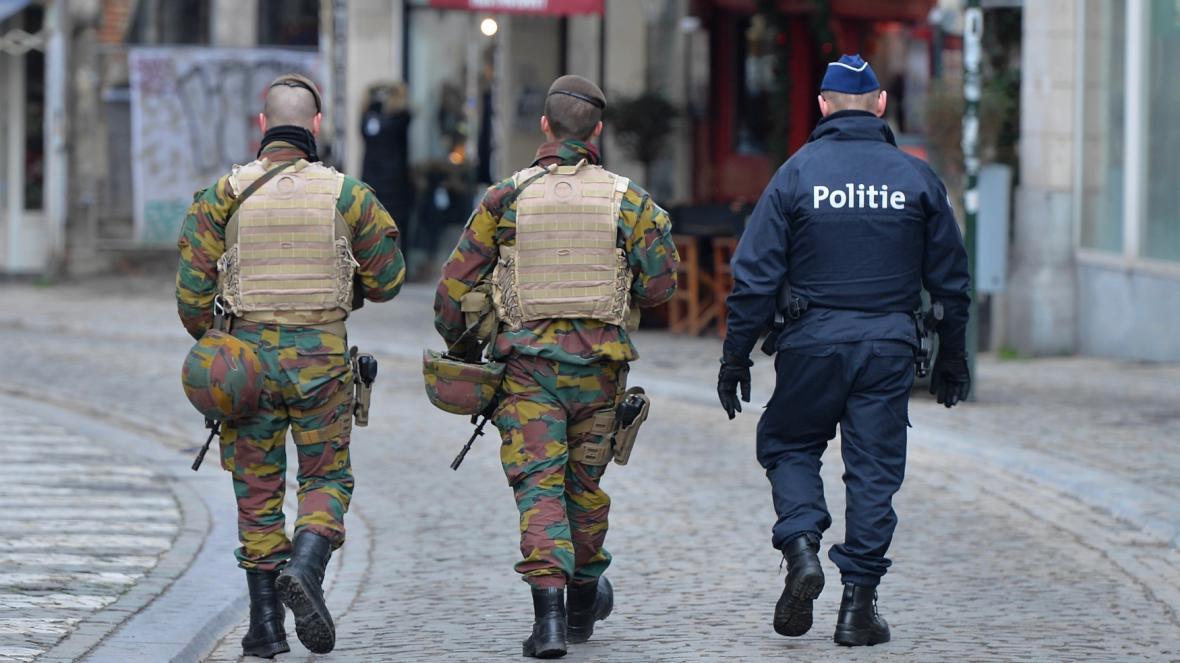 Brusel zavedl nejvyšší bezpečnostní stupeň