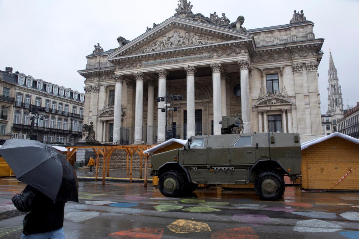 Bezpečnostní opatření v Bruselu