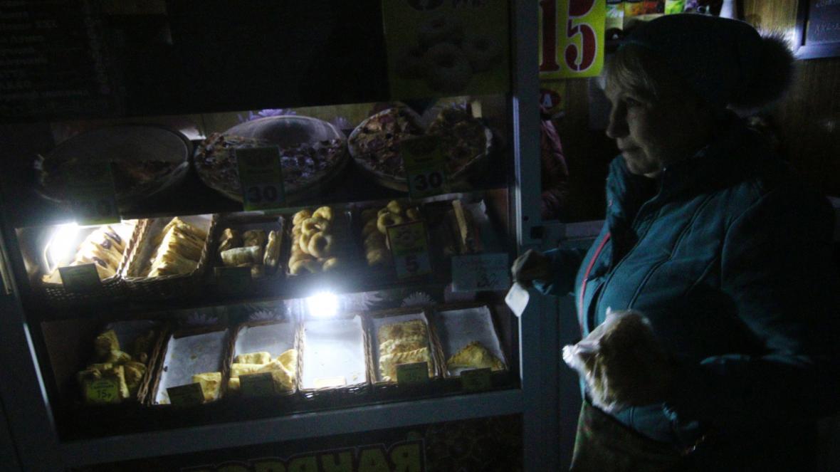 Na Krym neproudí žádná elektřina