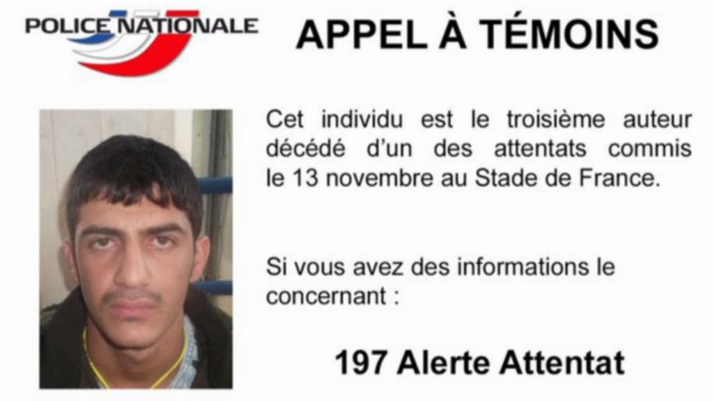 Sebevražedný atentátník ze Stade de France