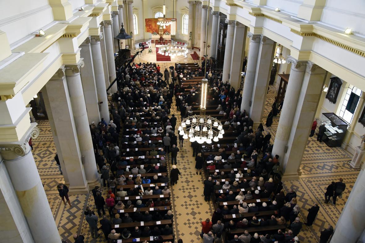 Katedrála Božského spasitele v Ostravě se opět otevřela