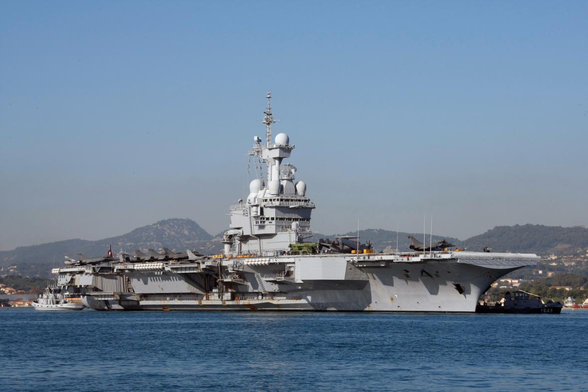 Letadlová loď Charles de Gaulle