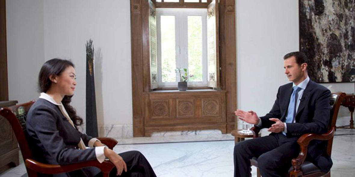 Rozhovor s Bašárem Asadem