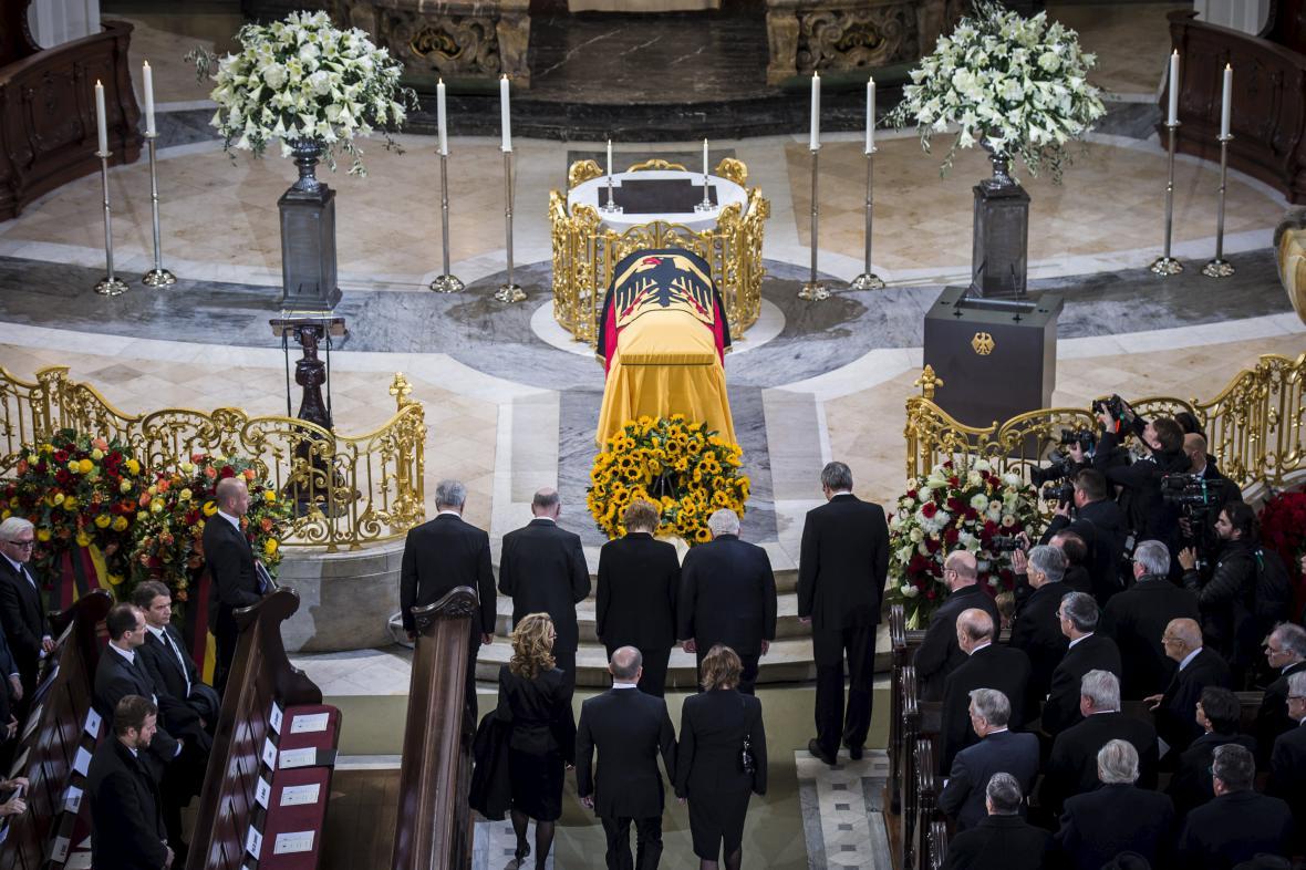 Pohřeb Helmuta Schmidta