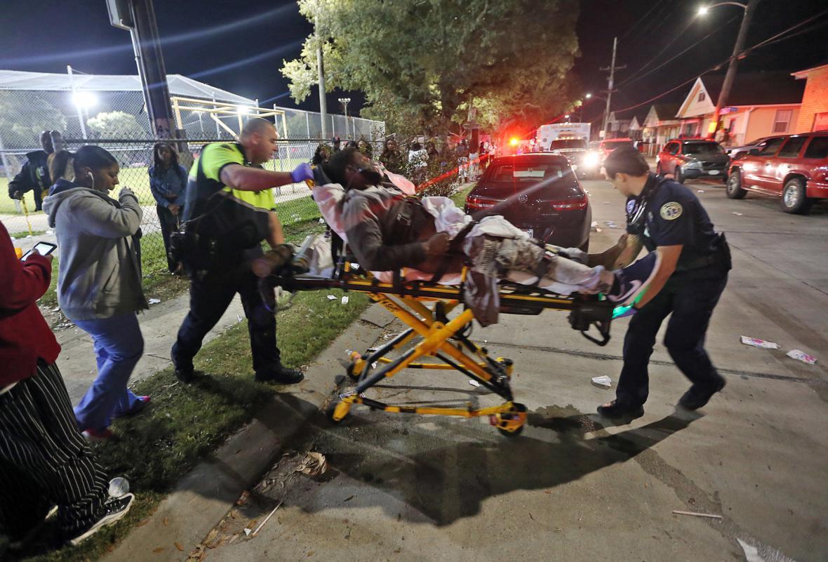 Střelba v New Orleans