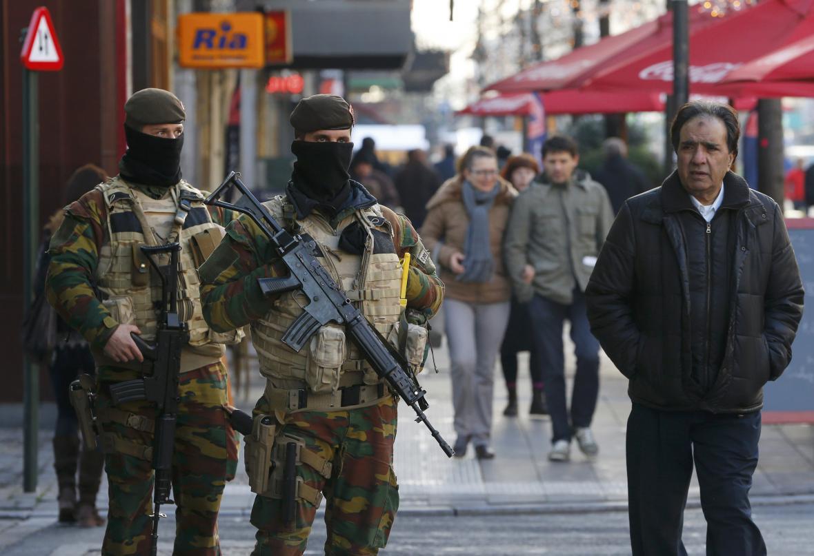 V Bruselu platí nejvyšší stupeň bezpečnostních opatření