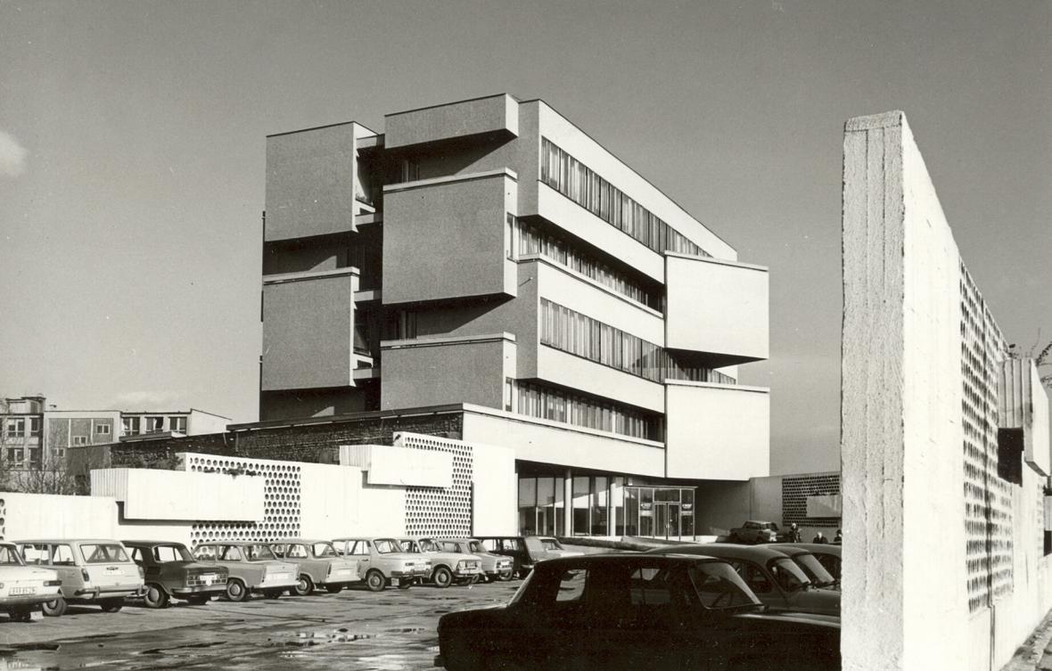 Administrativní budova na Zahradnické ulici v Bratislavě