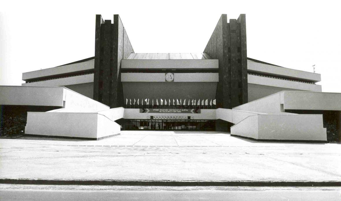 Palác sportu v Ostravě
