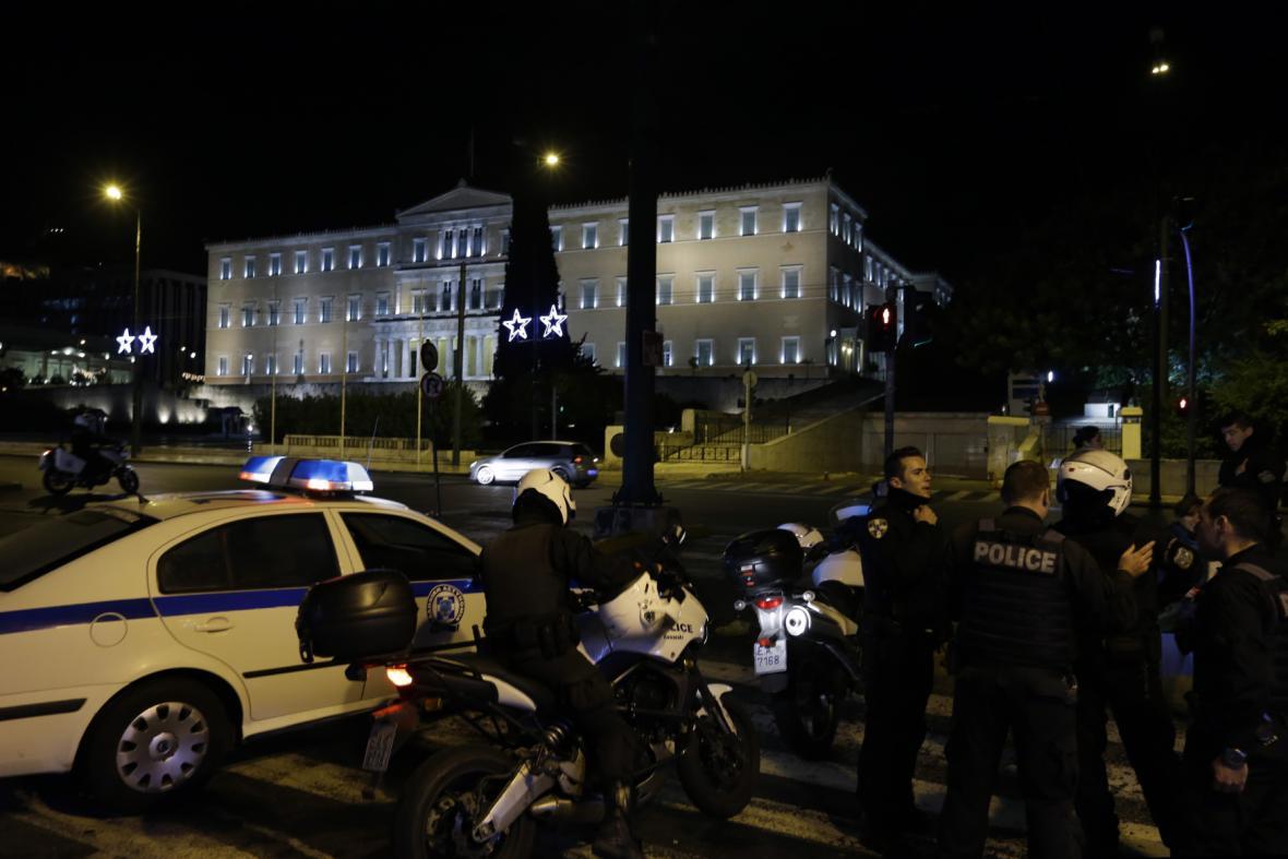 Vyšetřování výbuchu v centru Atén