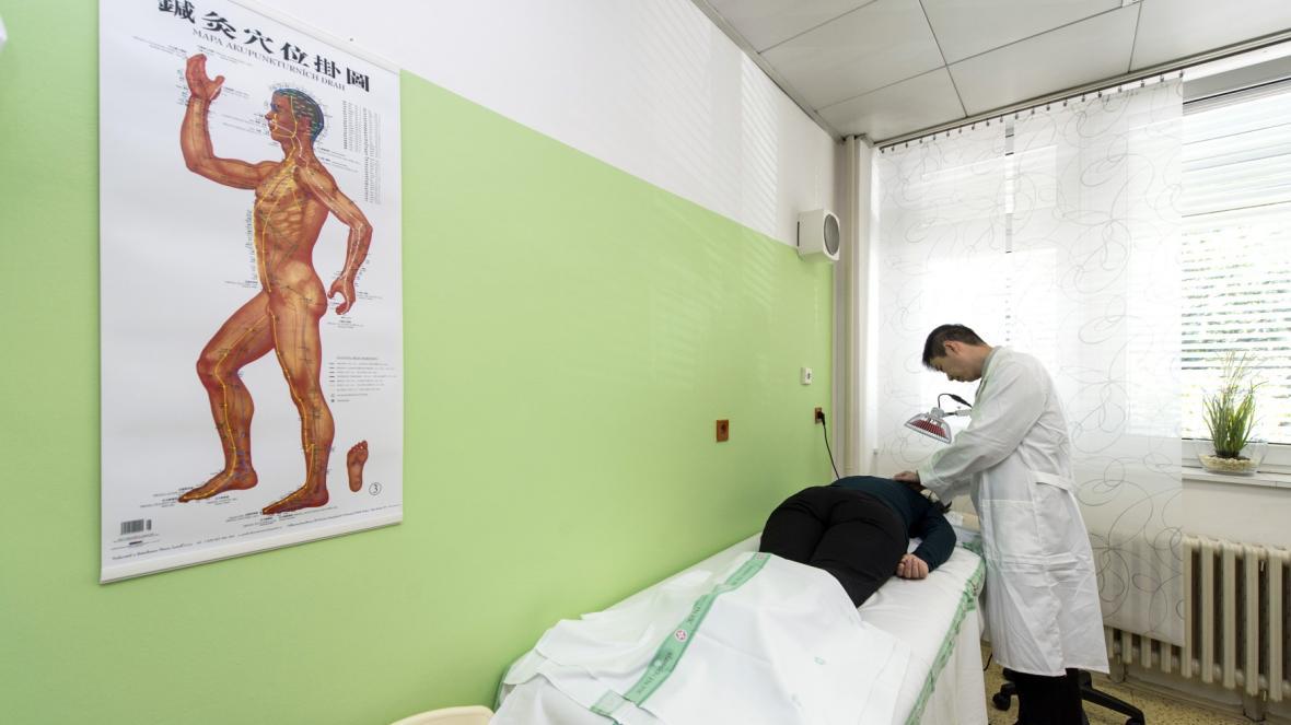 Ambulance čínské medicíny v nemocnici v Hradci Králové