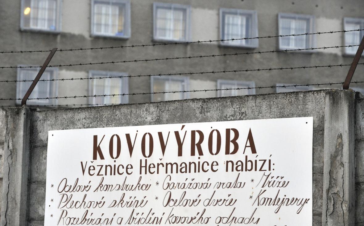 Pracoviště pro odsouzené v areálu heřmanické věznice