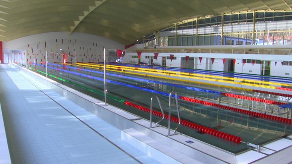 Nová plavecká hala v Ústí nad Labem