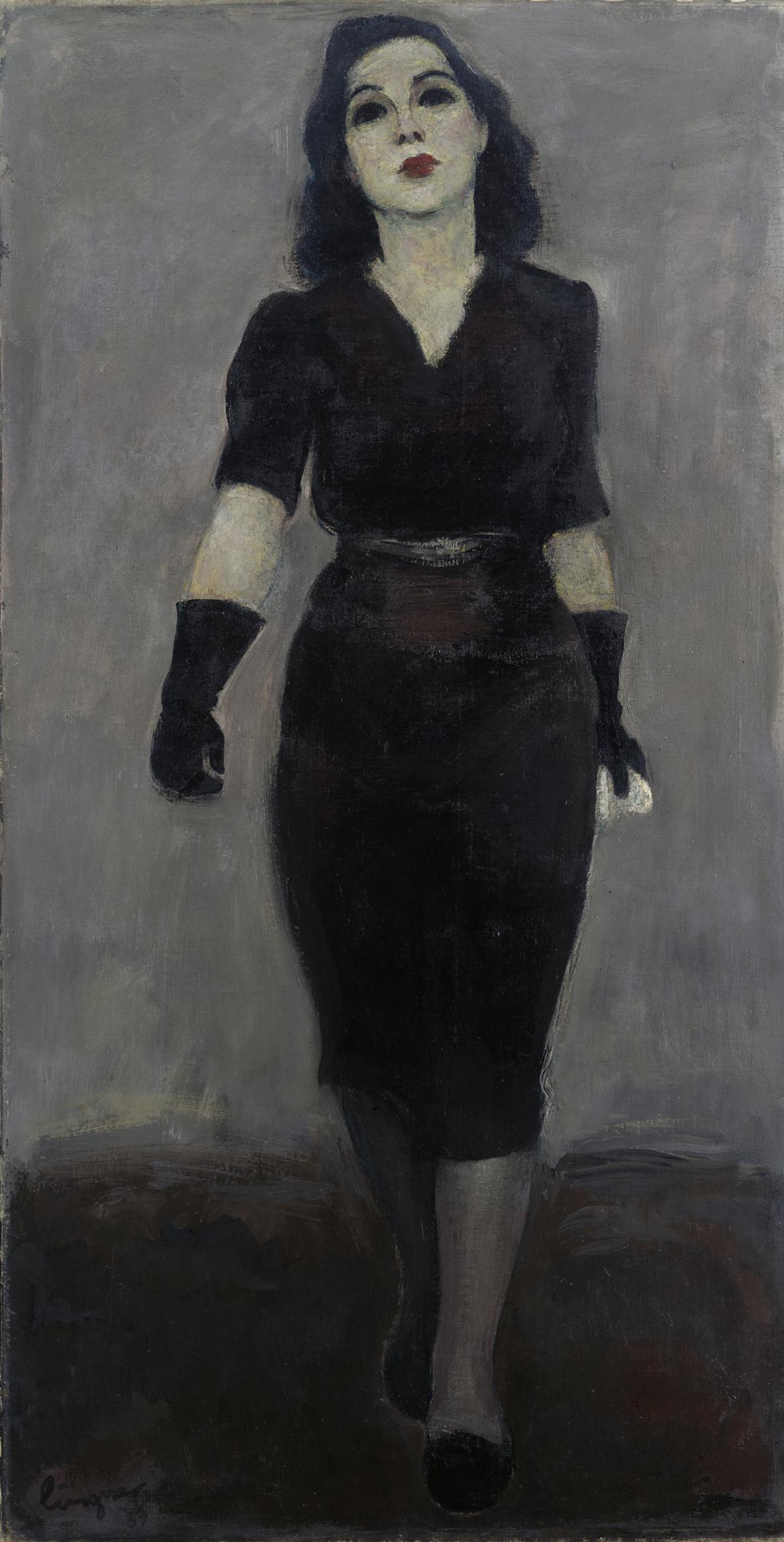 Max Lingner / Mademoiselle Yvonne, 1939.