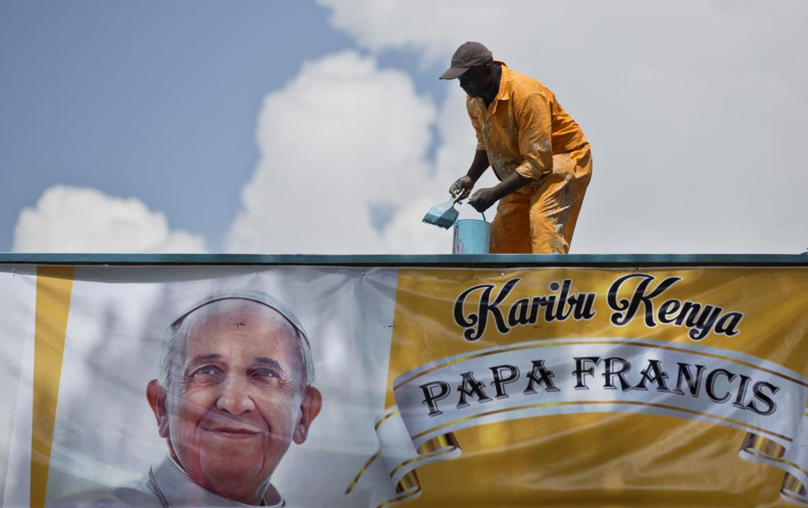 Keňa se připravuje na návštěvu papeže Františka