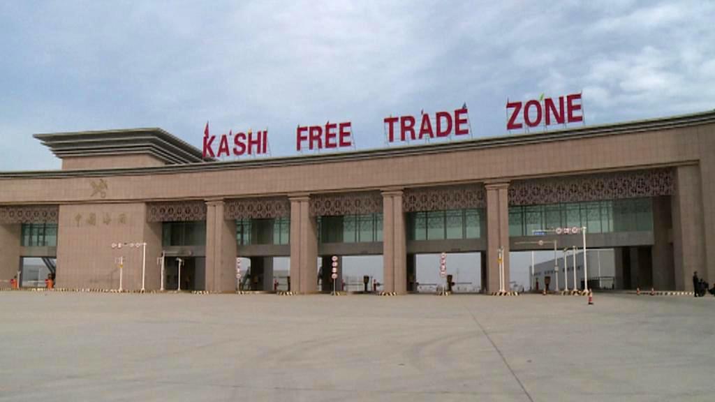 Kašgarská zóna volného obchodu
