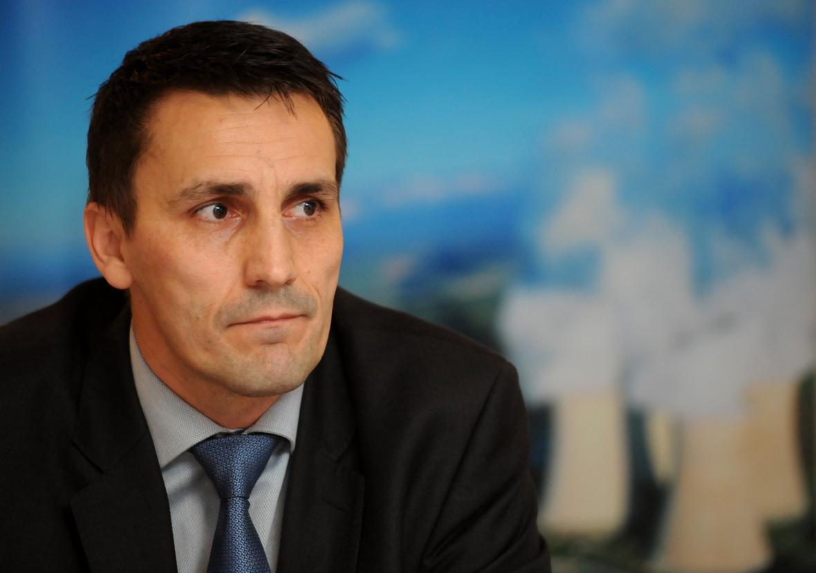 Ředitel temelínské elektrárny Bohdan Zronek