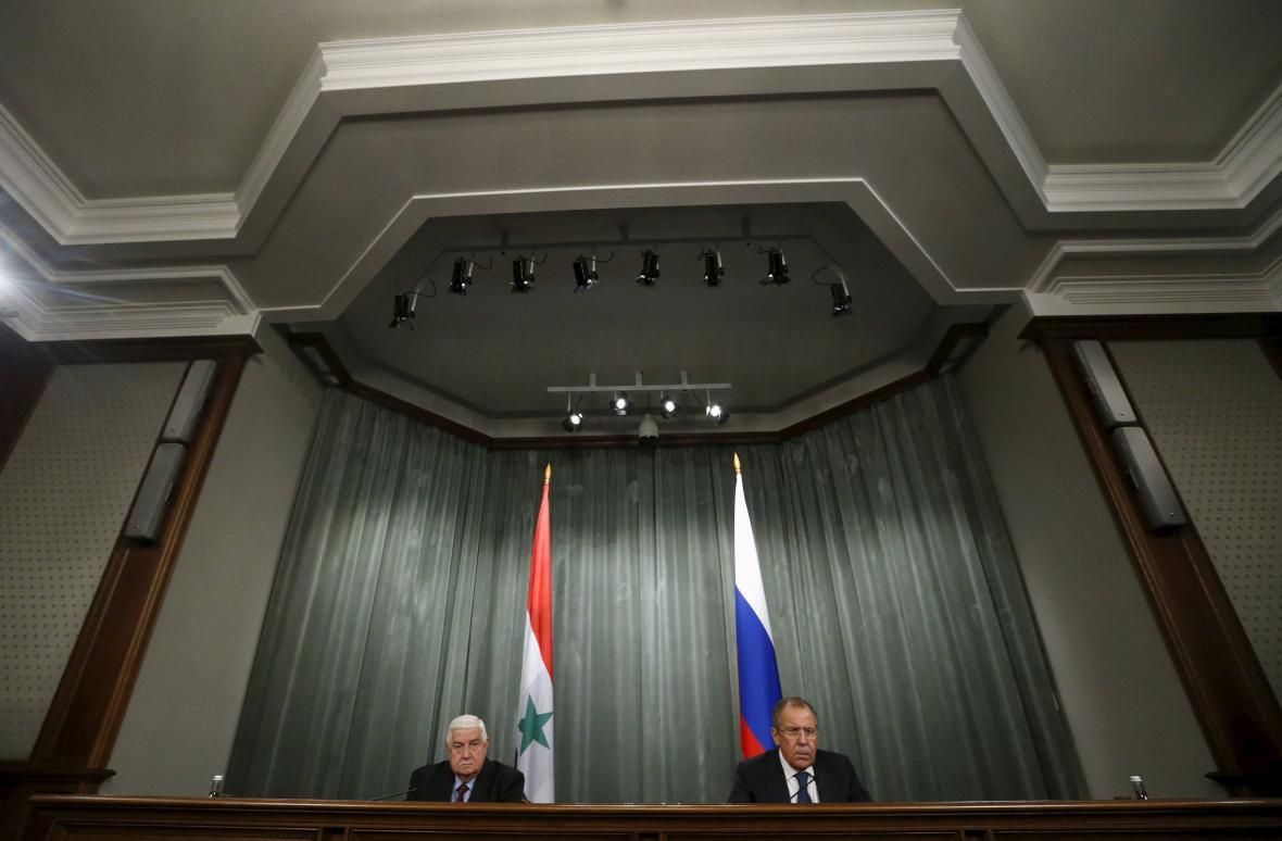 Valíd Mualim a Sergej Lavrov