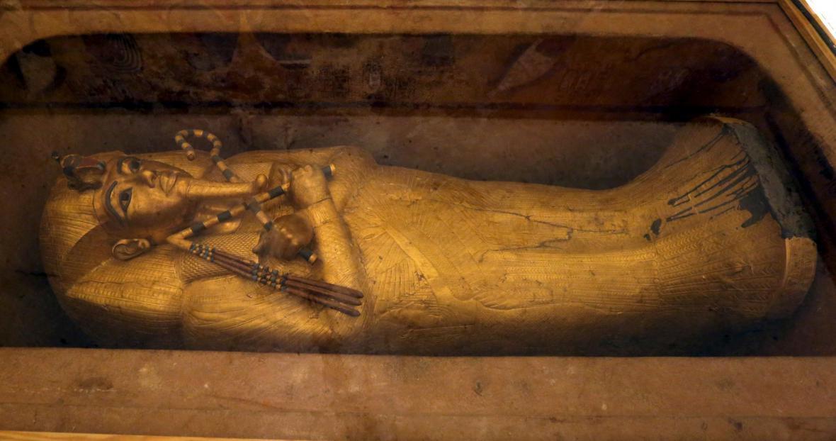 Tutanchamonova pohřební komora
