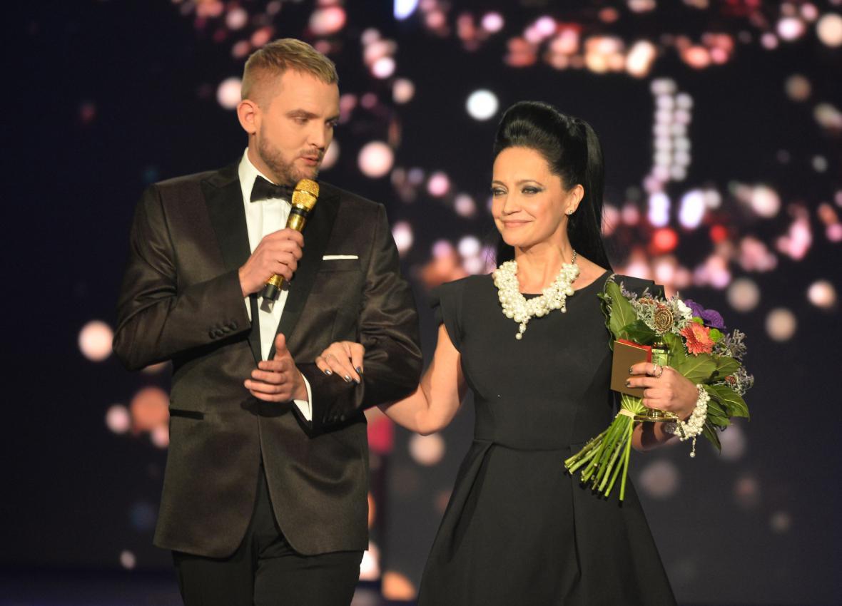 V kategorii zpěvaček zvítězila Lucie Bílá