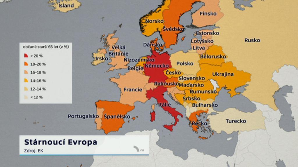 Stárnutí populace v Evropě