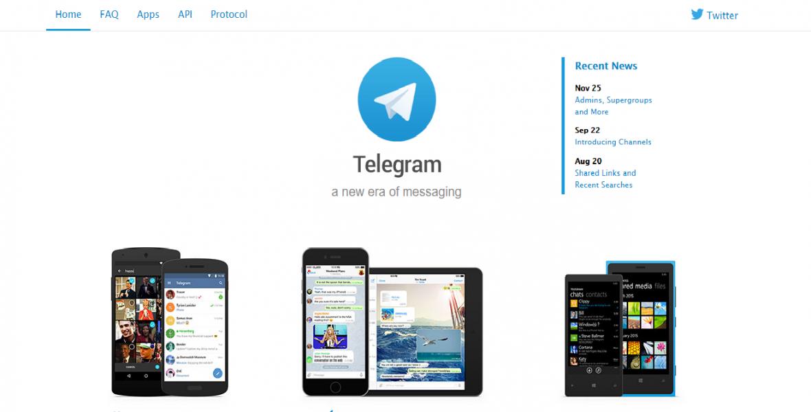 Síť Telegram
