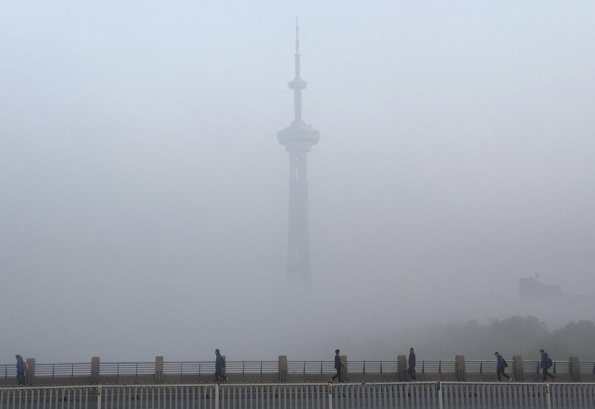 Smog v Nankingu