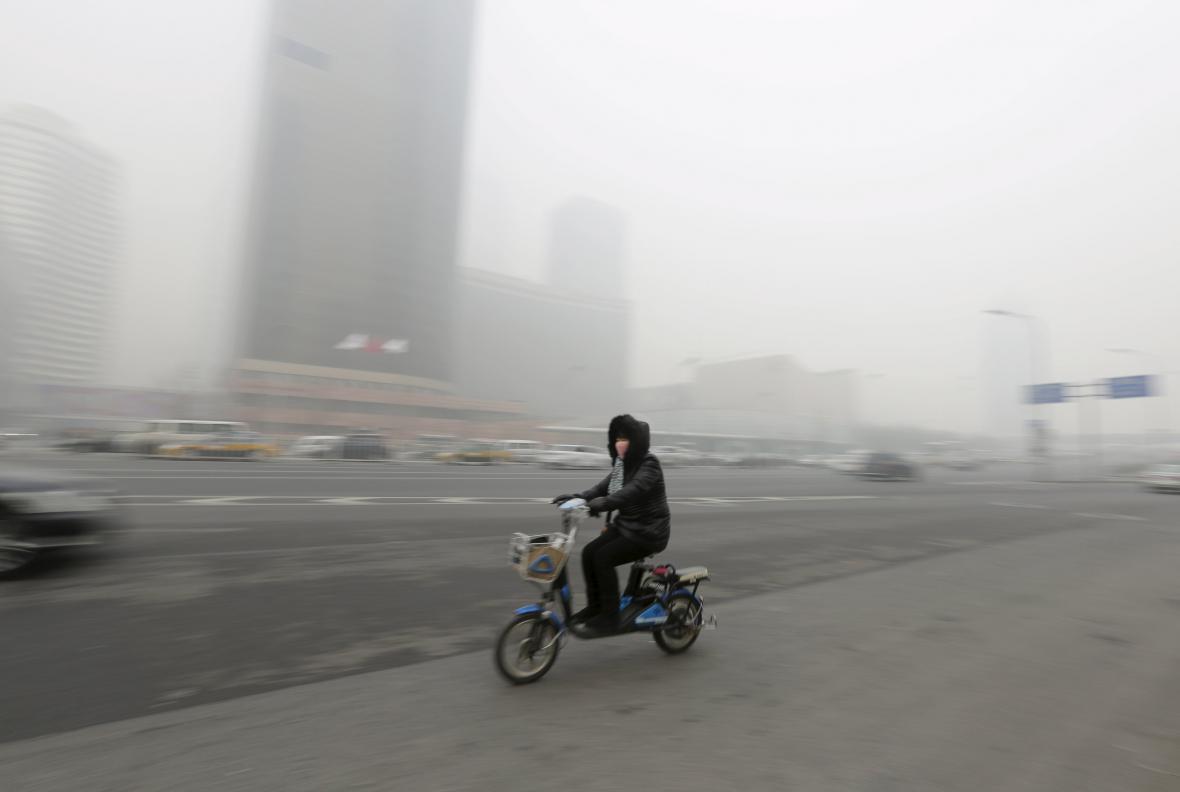Smog v Pekingu