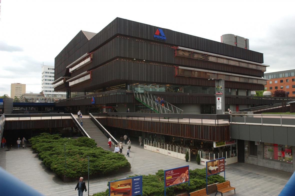 Dům bytové kultury v Praze na stanici metra Budějovická