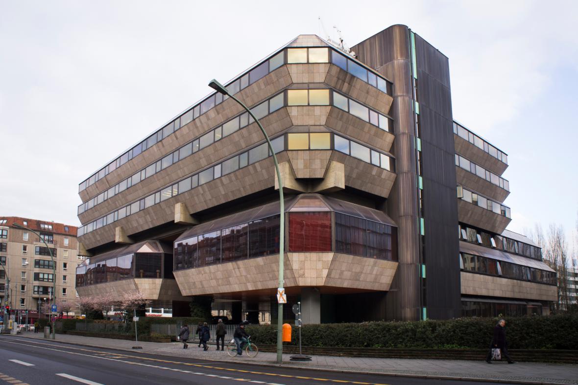 Budova velvyslanectví ČR v Berlíně