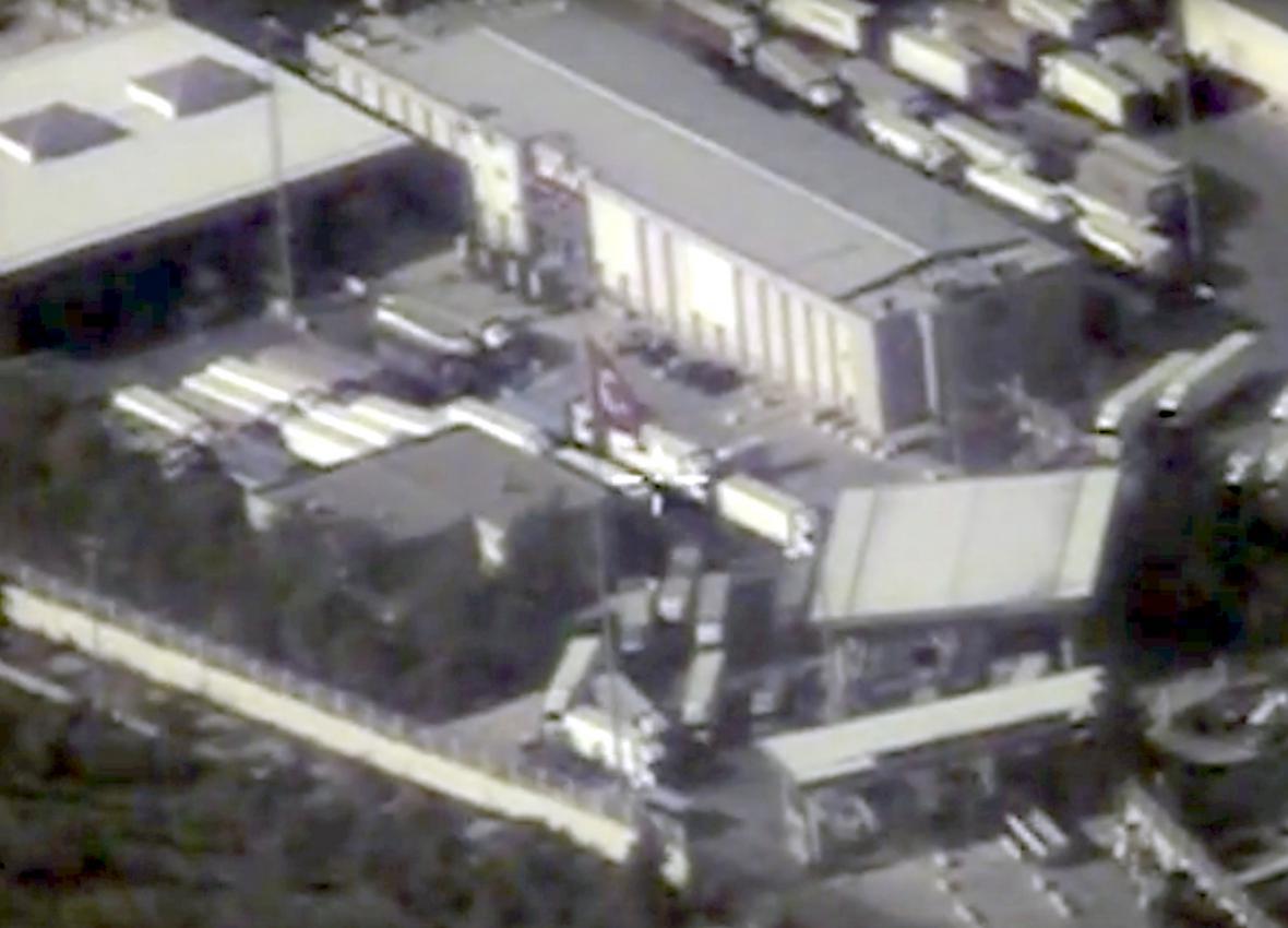 Ruské satelitní snímky, které mají dokazovat, že Ankara kupuje ropu od IS