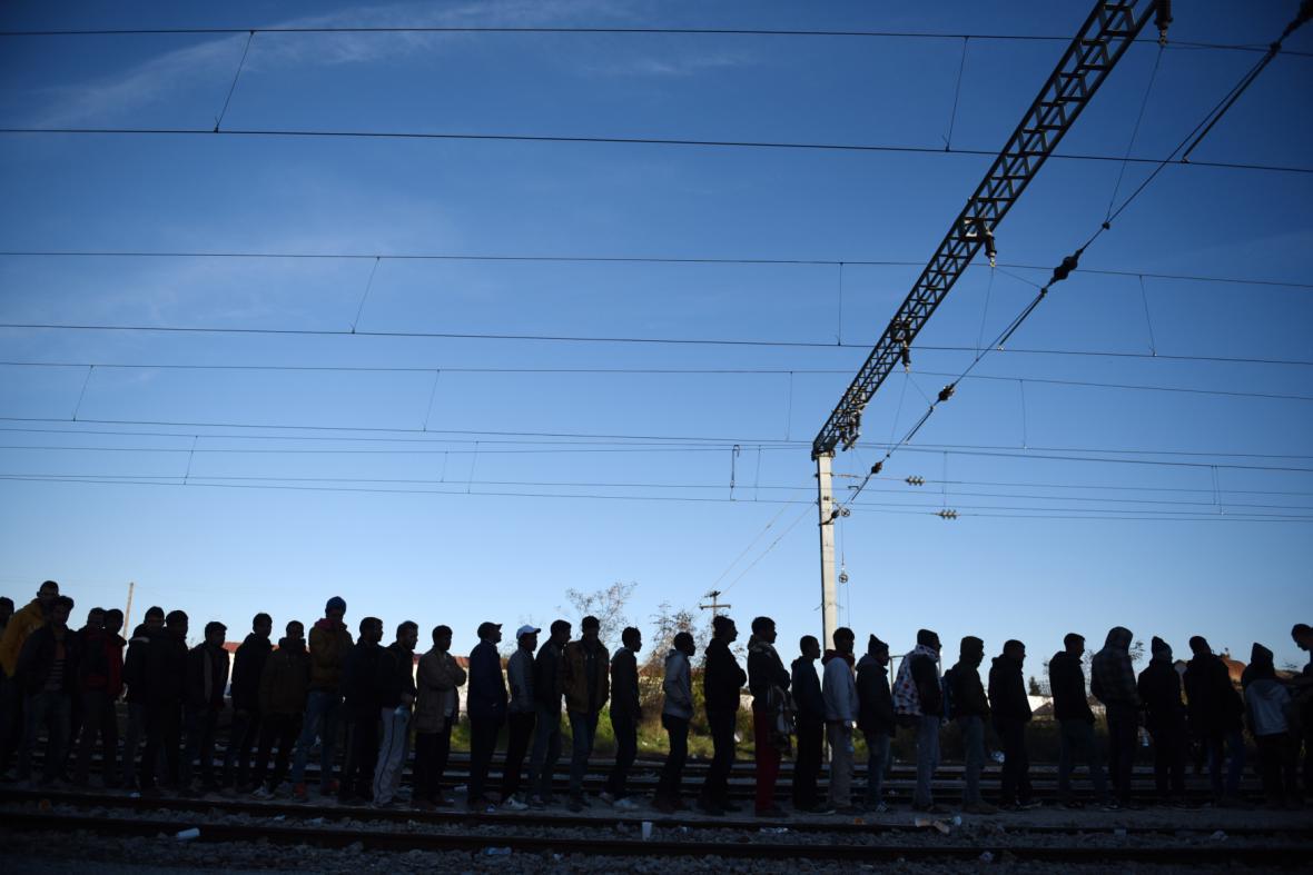 Uprchlíci v Makedonii