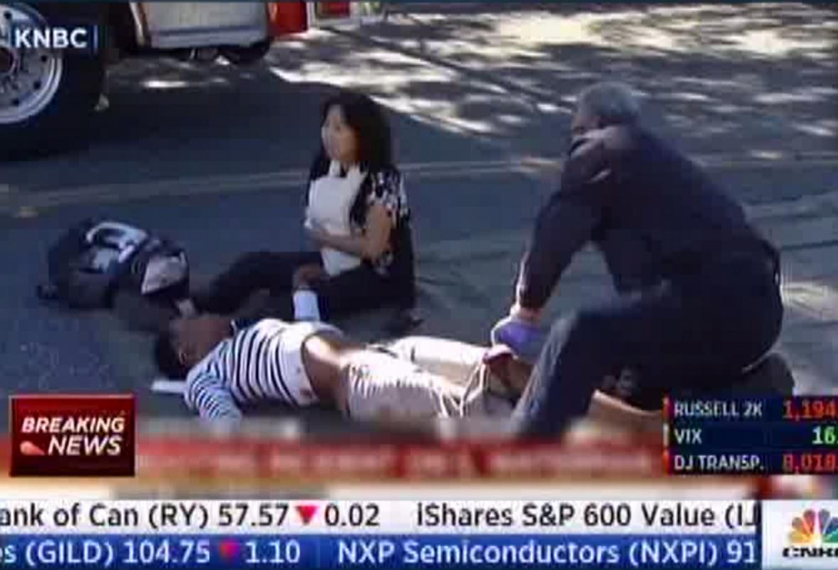 Místo střelby v San Bernardinu