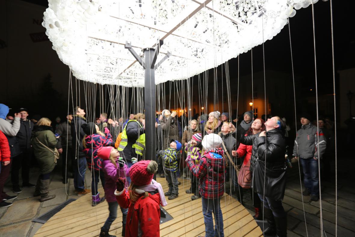 Festival světla v Plzni