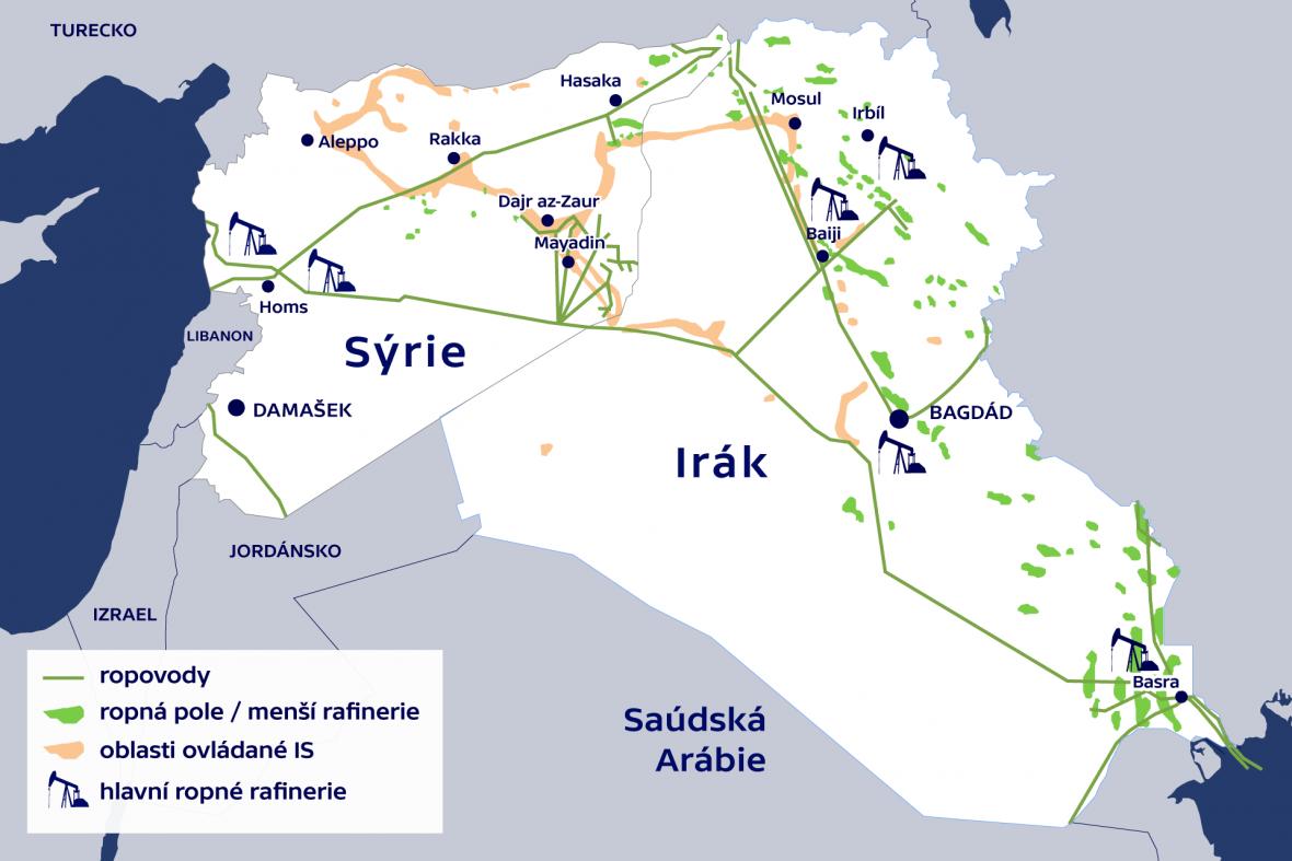 Ropa v Sýrii a Iráku
